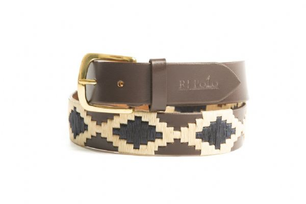 Belt (Navy and Cream)35mm